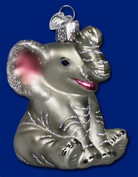 elephant christmas tree ornaments christmas ornament shop