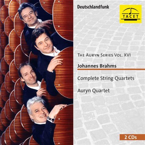 club cd brahms complete string quartets