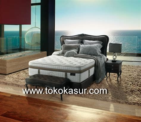 King Koil Viscountess 2017 200x200 Komplit Set florence san 42 5 cm toko kasur bed murah simpati furniture