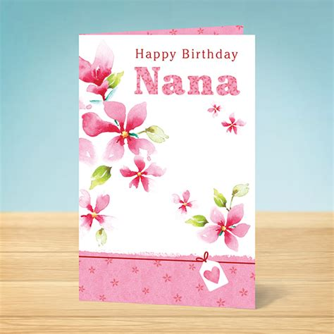 printable birthday cards nanny birthday card nana birthday garlanna greeting cards