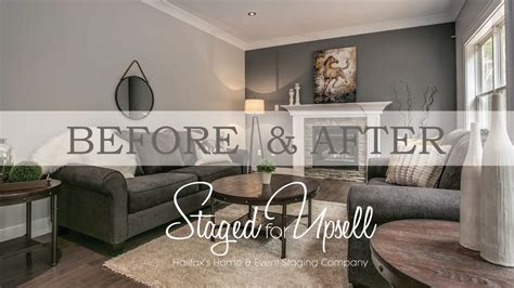 home staging before and after before and after home staging staged for upsell youtube
