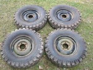 Willys Jeep Tires Willys Jeep Tires And Wheels 700 16 Cj2a Gpw Mb M38