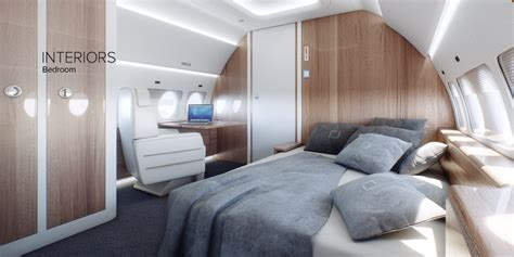 jet with bedroom interiors sukhoi civil aircraft