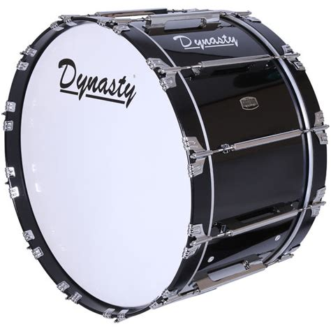 Drum White No Brand 18 dynasty custom elite marching bass drum marching bass