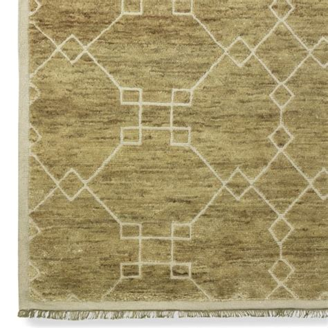 Fretwork Rug by O Brien Fretwork Rug Williams Sonoma