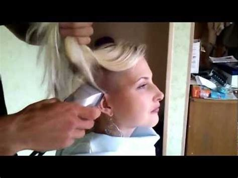 i would like a forced headshave sexy russian girl shaves her head bald part 2 youtube