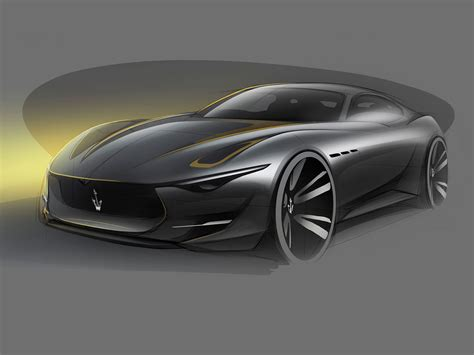 maserati concept cars maserati alfieri concept design sketch car body design