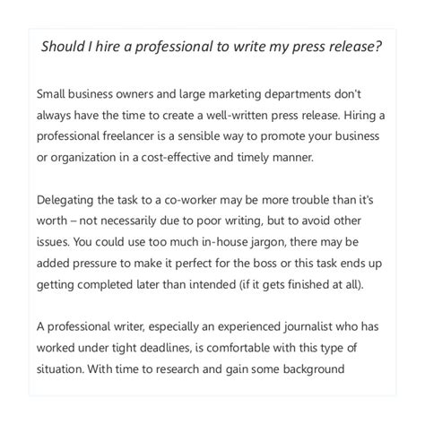 new hire press release template how to write effective press releases several tips from