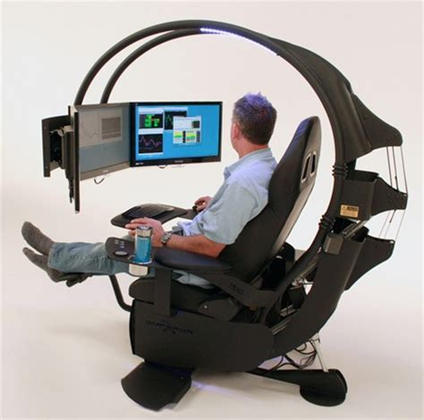 computer desk ergonomic design comfortable and innovative computer workstation for home