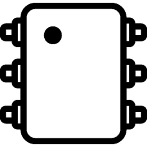 integrated circuit technology industry industry integrated circuit icon ios 7 iconset icons8
