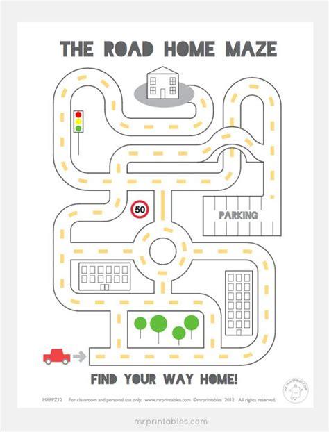 printable car maze 421 best images about mr printables on pinterest finger