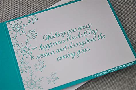 Business Greeting Card Verses