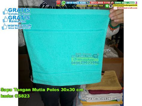 Sapu Tangan Handuk Birdie 30x30 sapu tangan mutia polos 30 215 30 cm souvenir pernikahan