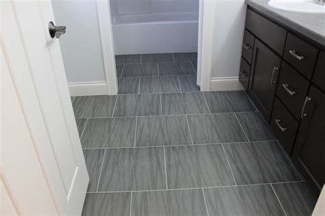 Modern Bathroom Floor Tile Whats In Tile Showers Right Now And Other Flooring Trends Modern Grey Floor Loversiq
