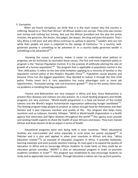 Poverty Essays by War Against Poverty Essay