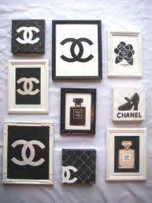 Chanel Wall Decor by 17 Best Ideas About Chanel Wall On Chanel