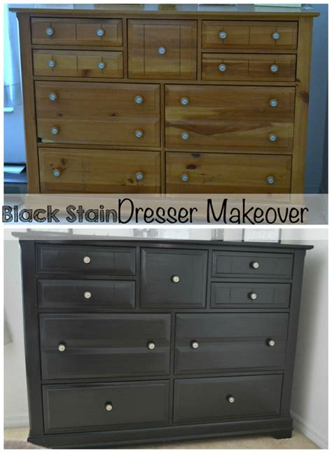 Staining Bedroom Furniture Bedroom Furniture Makeover Part 2 How To Stain Your Wood Furniture Black It S A S World