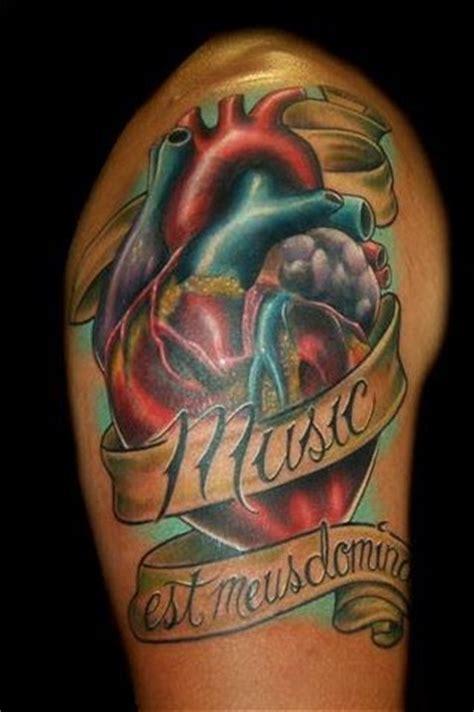 tattooed heart male version heart tattoo for men coolmenstattoo com