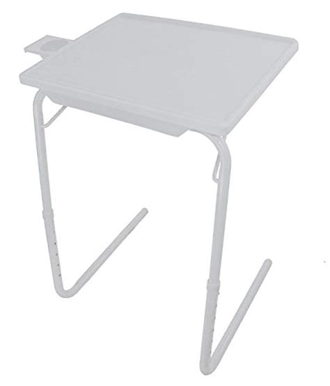 table mate as seen on tv new smart folding table mate with cup holder and drawer as