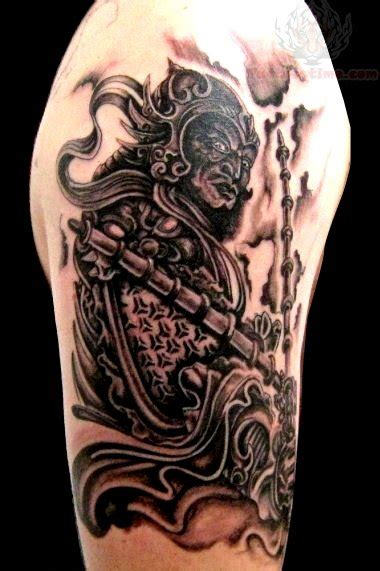 samurai tattoo black and grey black and grey samurai warrior tattoo