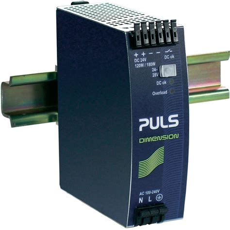 Power Supply 24vdc2er rail mounted psu din puls dimension qs5 241 24 vdc 5 a 120 w 1 x from conrad