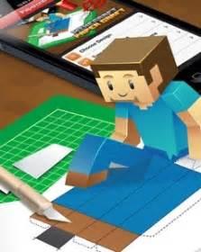minecraft papercraft studio zelf  modellen knutselen