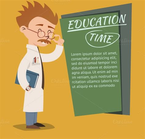 education poster templates education time posters illustrations on creative market