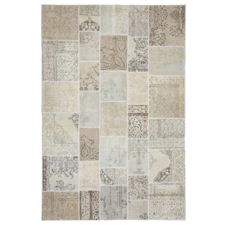 Patchwork Rug - authentic vintage patchwork rug 200x300cm
