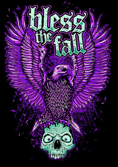 Tshirt Bless The Fall C3 bless the fall eagle design survival