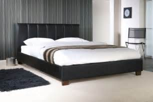 Bed Frames King Size Wooden Limelight Pulsar Black 3ft Single Faux Leather Bed Frame