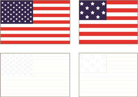 free printable us state flags 4 best images of free printable american flag free