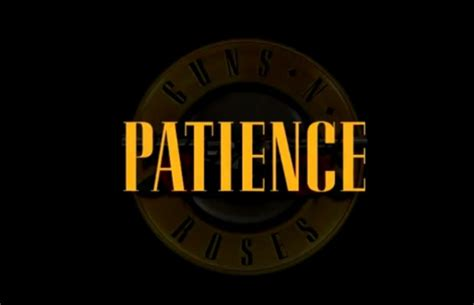 testo patience guns n roses guns n roses just released a teaser for their