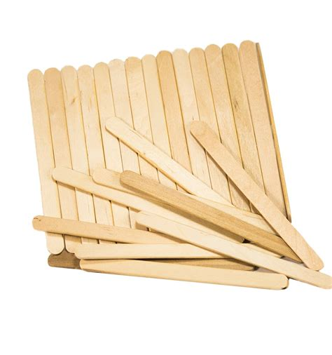 popsicle sticks stix wooden craft sticks 4 1 2 quot length