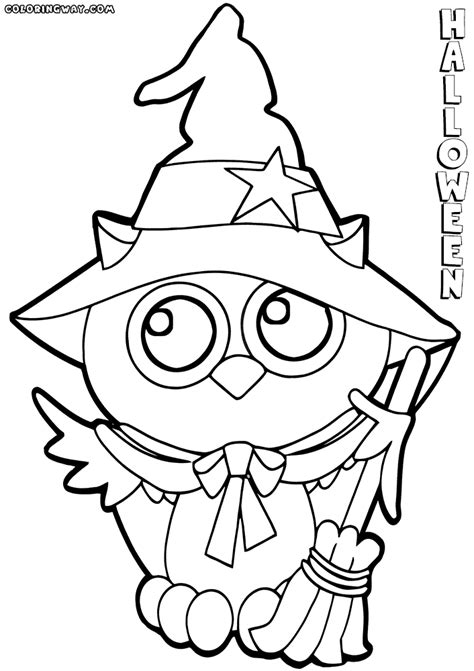cute halloween coloring pages coloring pages to download
