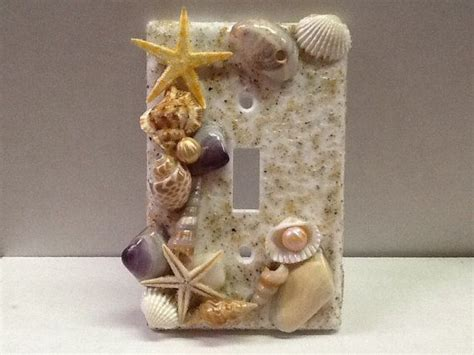 seashell light switch cover light switch cover seashells and ri by