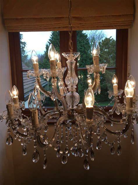 Lewis Lighting Chandeliers by Large Lewis Chandelier Light In Harlow Essex Gumtree