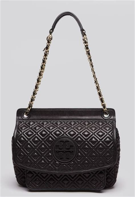 Burch Quilted by Burch Shoulder Bag Marion Quilted Small In Black Lyst