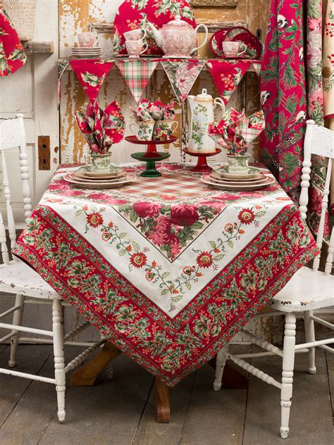 Patchwork Tablecloths - patchwork tablecloth linens kitchen