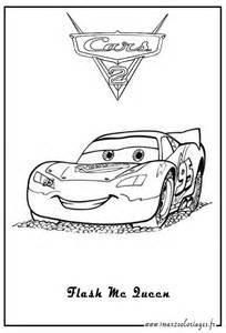 Dessin De Cars Flash Mcqueen A Imprimer Coloriage De Carsflashmcqueen L L