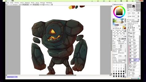 inkscape tutorial game character mobile game character coloring time lapse nightspade