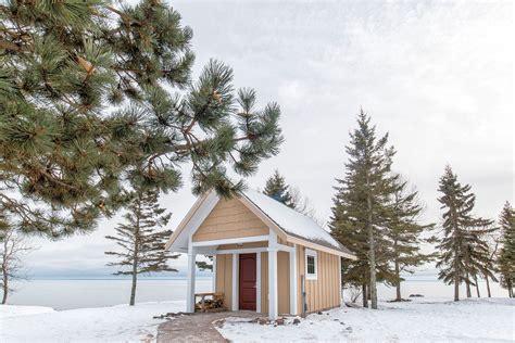 Finnish Sauna Larsmont Cottages North Shore Minnesota Larsmont Cottages Mn