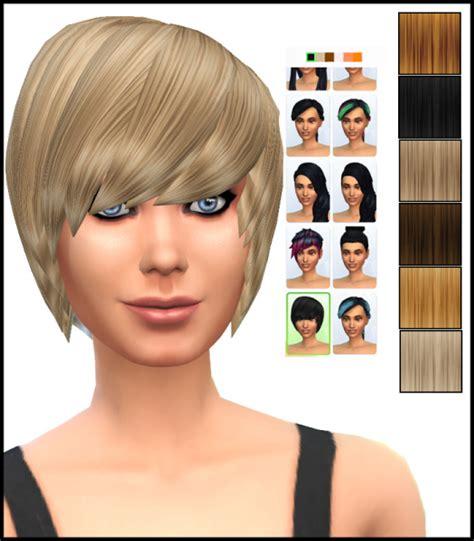 emo hairstyles sims 4 sims 4 hairs simista david sims emo hairstyle retextured