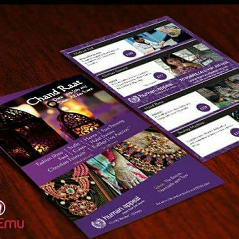 flyer design bradford human appeal chand raat 2015 flyer design and print