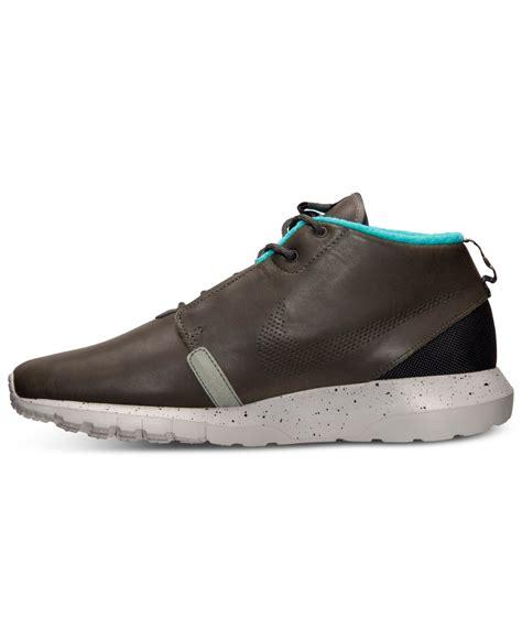 Nke Roserun Black Sneaker Premium nike s roshe run premium motion sneakerboots