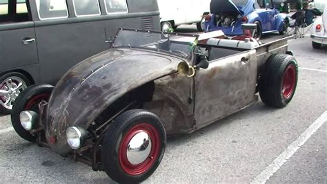 ratrod vw air cooled bug funnycattv