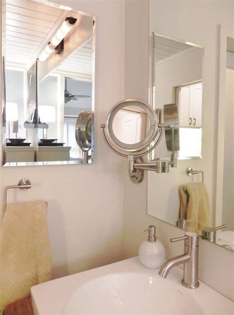how to mount bathroom mirror 17 insanely clever small bathroom hacks to make it larger