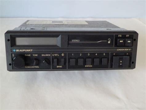 car radio cassette car radio cassette player blaupunkt dqm 37 1986