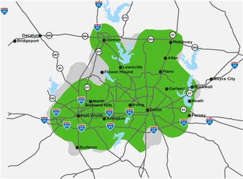 where is mckinney texas on the map mckinney texas map and mckinney texas satellite image