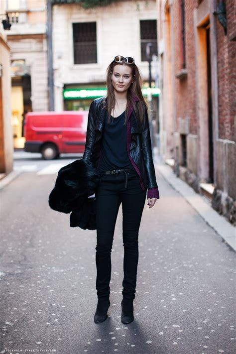 black clothing models duty looks are models the new style icons the fashion tag