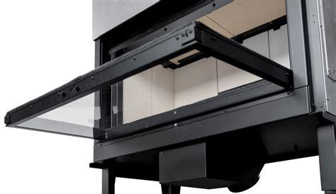 camino doppia facciata caminetto a doppia facciata a legna incassato plasma 95b